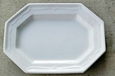 """T & R Boote English Ironstone 18"""" Inward Facing Ogee Octagon Gothic Platter 1851"""