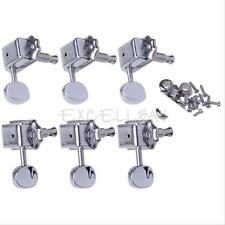 New Chrome 3L 3R Guitar Deluxe Tuning Pegs Machine Heads for Gibson Replacement