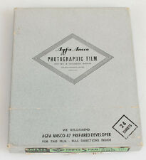 VINTAGE AGFA TRIPLE S PAN 4 X 5 NEGATIVE BOX.