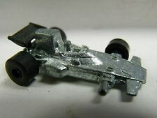 UNKNOWN MFG,SLUSH MOLD??,LOTUS JPS 11, UNPAINTED,HO SCALE?, VERY GOOD CONDITION