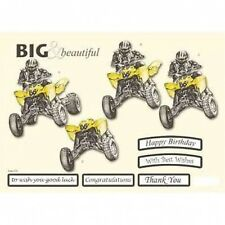 BEAUTIFUL QUAD BIKES COLLECTION EMBELLISHMENT TOPPERS  FOR CARDS/CRAFTS