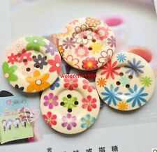 20x large 50mm mix novelty random Scrapbook Sewing nature wood coat buttons