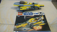 Lego Star Wars The Clone Wars Anakin's Jedi Starfighter (7669) OOP