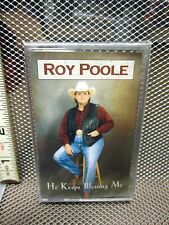 ROY POOLE cassette tape He Keeps Blessing Me NWT Christian country