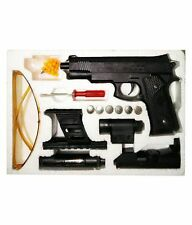 High Grade Type 1:1 Real Scale Air Sport 6MM B.B. TOY Gun with Beam Light, Laser