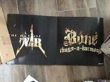 BONE THUGS AND HARMONY ART OF WAR 2 SIDED PROMO POSTER 12 X 24