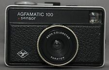 AGFA AGFAMATIC 100 Sensor Vintage Compact Pocket FILM Camera Colorstar Parator