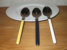 ICM ITALY *NEW* ZERO JAUNE 1 couvert Cuillère Cutlery Yellow (à gauche)