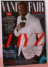 VANITY FAIR Magazine JAY Z New Chairman of the Board Summer Camp 4 BILLIONAIRES