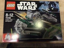 BRAND NEW in  BOX LEGO Star Wars Yoda Jedi Starfighter 75168 FREE POSTAGE