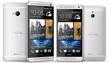 HTC ONE M7 32GB SILVER NUOVO GRIGIO GARANZIA 2 ANNI FATTURA SMARTPHONE - ITALIA