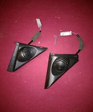 96 97 98 99 00 HONDA Civic Coupe Door Panel Tweeter Speaker Cover EK OEM PAIR