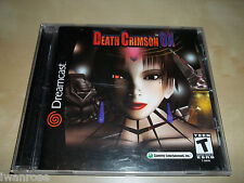 Dreamcast - Death Crimson OX (US)