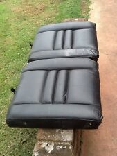 94 to 98 mustang gt rear top black leather seats