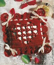 SWEET Lacet Heart Sachet/Decor/Crochet Pattern INSTRUCTIONS ONLY