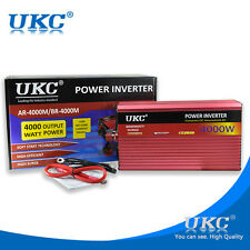 UKC 4000W 12V to 220V Car inverter for Fridge , freezer , microwave oven charge