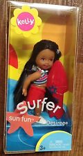 Surfer Desiree Sun Fun Beach Surfboard 2003 Kelly Club Barbie NRFB Rare HTF AA