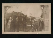 Egypt CAIRO close up street scene pre1919 RP PPC