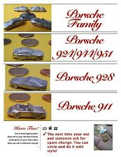 PORSCHE 928 MINI METAL MODEL TOY GAME PIECE CHARM COOLNESS