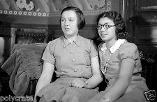 Photo Art Artiste anonyme Déco NB - Portrait de deux soeurs - jeune femme an. 30