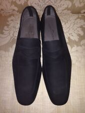 Massimo Emporio MENS PALMA 15295 DRESS SHOES SUEDE BLACK SIZE 10.5