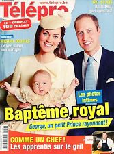 french magazine Télépro N°3113 kate middleton william et george 2013