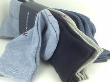 Men's TOMMY HILFIGER Brand Blue Dress Socks - 4 Pack - $36 MSRP