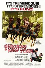 HERCULES IN NEW YORK Movie POSTER 27x40 C Arnold Schwarzenegger Arnold Stang