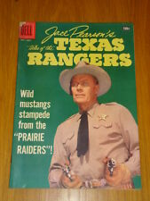 JACE PEARSON'S TALES OF THE TEXAS RANGERS #17 VG (4.0) 1957 DELL WESTERN COMIC B
