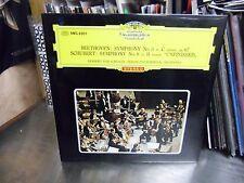 Herbert Von Karajan Beethoven [Japan Import] LP DGG Records EX [Red Tulip]