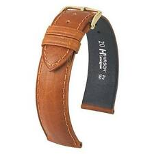 Hirsch Camelgrain open-ended 18 mm honey Pro Skin watch strap, M