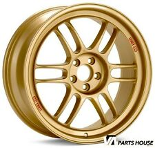 Enkei RPF1 18x8 5x100  +45mm Offset  in Gold | 379-880-8045GG WRX & 2004 STI