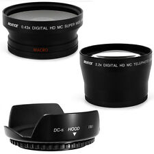 72mm Lens Hood Petal,Wide Angle,Telephoto Lens for PANASONIC DVX100B,DVX100 NEW
