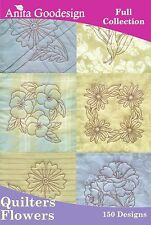 Quilters Flowers Anita Goodesign Embroidery Designs