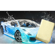 Portable Chamois Leather Car Cleaning Washing Suede Absorbent Sponge Home Tool
