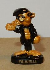 GASTON LAGAFFE MARSU BY FRANKIN 2009 FEVE PORCELAINE 3D PRUNELLE NOIR & OR