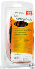 Jump Start Soil Heating Cable 12' Built-in thermostat SAVE $$ W/ BAY HYDRO $$