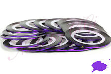 STRIPING TAPE 20M NAIL ART - LINE STICKER ROLL - Purple