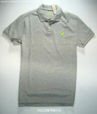 American Eagle Mens AE Gray Pique Polo Shirt XXXL NWT