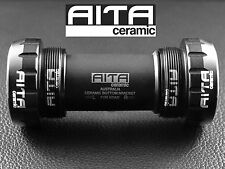 Campagnolo Ultra Torque English Thread Bottom Bracket (Black) - AITA Ceramic