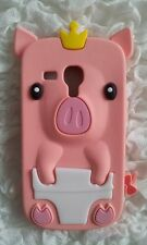 Silicone Cover per cellulari PIG7 para SAMSUNG GALAXY S3 MINI