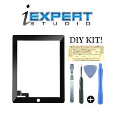 NEW OEM Original Black Digitizer Screen Glass Touch Replacement for iPad 2 TOOLS
