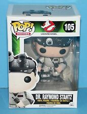 FUNKO MIB # 105 Ghostbusters movie Dr. Raymond Stantz Pop! Vinyl Figure
