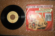 "45 GIRI 7"" THE SHADOWS: APACHE GUITAR TANGO EMI Do You Remember ?"