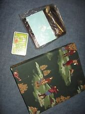 LOT GOLF PHOTO ALBUM WOODEN GOLF CLUB NOT HOLDER FUNNY DECK OF GOLF CARDS