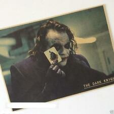 The Dark Knight The Joker Movie Poster Kraft Paper Poster Bar Room Decorate love