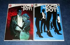 JACKPOT #1 1:10 variant + reg 1st print set RAY FAWKES AFTERSHOCK COMIC 2016 NM