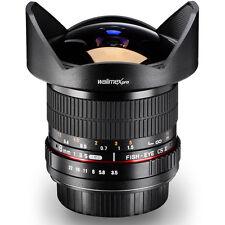 Walimex pro 8mm/3,5 CS2 Fisheye für Nikon D5300 D5200 D5100 D5000 D3200 D3100