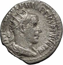 Philip I 'the Arab' Silver Ancient Coin Goddess of hope SPES Ultima dea i48756