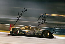 Nicolas Prost, Nick Heidfeld, Neel Jani Hand Signed Rebellion Lola 12x8 Photo 6.
